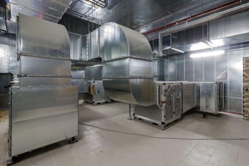 Bilde av ventilasjonsanlegg i nybygg - Våre tjenester fra Østfold Ventilasjon & Automatikk As