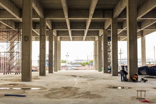 Bilde av byggeplass - Prosjektering og montering fra Østfold Ventilasjon & Automatikk As