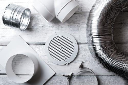 Salg av deler og utstyr - Bilde av ventilasjonsdeler